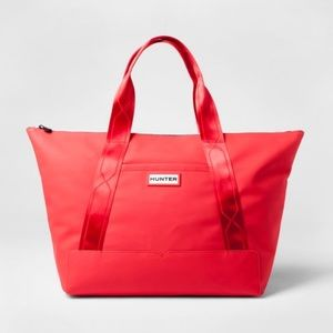 Hunter for Target oversized red tote